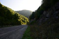 Αρμενικές ορεινές περιοχές Στο δρόμο Στοκ Φωτογραφίες