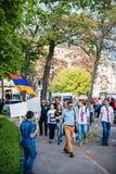 Αρμενική 100η ενθύμηση Μάρτιος γενοκτονίας στη Γαλλία Στοκ Φωτογραφία
