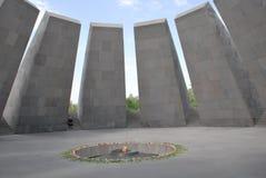 Αρμενικός αναμνηστικός ο σύνθετος γενοκτονίας στο λόφο Tsitsernakaberd σε Jerevan, Αρμενία στοκ φωτογραφίες με δικαίωμα ελεύθερης χρήσης
