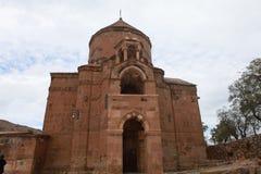 Αρμενικός καθεδρικός ναός του ιερού σταυρού στο νησί Akdamar Στοκ φωτογραφίες με δικαίωμα ελεύθερης χρήσης