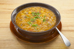 αρμενικό λαχανικό σούπας φακών Στοκ φωτογραφίες με δικαίωμα ελεύθερης χρήσης