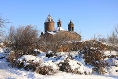 Αρμενικό μοναστήρι σύνθετο Sagmosavank Στοκ Φωτογραφίες