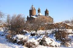 Αρμενικό μοναστήρι σύνθετο Sagmosavank Στοκ Εικόνες
