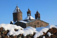 Αρμενικό μοναστήρι σύνθετο Sagmosavank Στοκ φωτογραφία με δικαίωμα ελεύθερης χρήσης