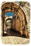 Αρμενικό τέταρτο της Ιερουσαλήμ Στοκ Φωτογραφία