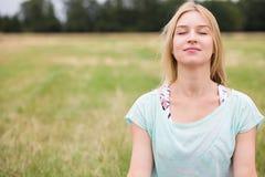 Αρμονία με τη φύση Στοκ φωτογραφία με δικαίωμα ελεύθερης χρήσης