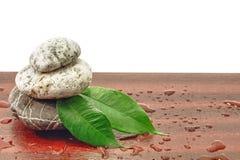 Αρμονία πετρών SPA zen Στοκ φωτογραφίες με δικαίωμα ελεύθερης χρήσης