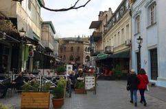 Αρμονία της παλαιάς πόλης του Tbilisi Στοκ φωτογραφία με δικαίωμα ελεύθερης χρήσης