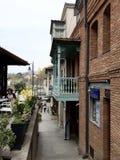 Αρμονία της παλαιάς πόλης του Tbilisi Στοκ Εικόνα