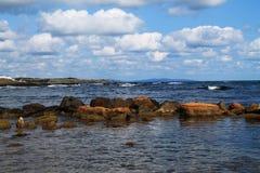 Αρμονικό seascape Στοκ φωτογραφίες με δικαίωμα ελεύθερης χρήσης