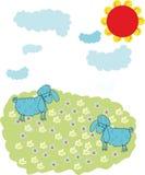 αρνί Στοκ εικόνα με δικαίωμα ελεύθερης χρήσης