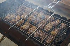 Αρνί kebabs Στοκ φωτογραφία με δικαίωμα ελεύθερης χρήσης