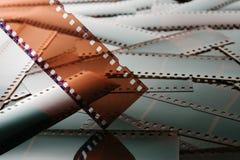 Αρνητικό υπόβαθρο φωτογραφιών Technicolor Στοκ φωτογραφίες με δικαίωμα ελεύθερης χρήσης