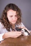 Αρουραίος εργαστηριακής ζωικός έρευνας στοκ φωτογραφίες με δικαίωμα ελεύθερης χρήσης