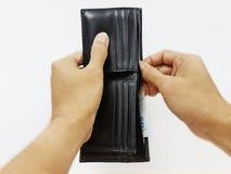 Αρπάξτε τα χρήματα για να πληρώσετε Στοκ Φωτογραφία