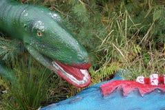 Αρπακτικός δεινόσαυρος Στοκ φωτογραφίες με δικαίωμα ελεύθερης χρήσης