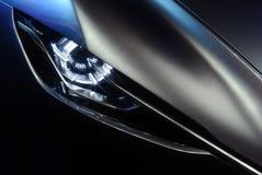 Αρπακτικός προβολέας αυτοκινήτων Στοκ εικόνα με δικαίωμα ελεύθερης χρήσης