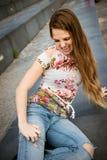 Αρπακτικό ζώο γυναικών Στοκ εικόνα με δικαίωμα ελεύθερης χρήσης