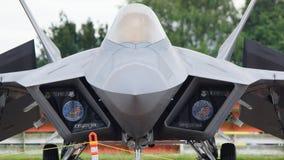 Αρπακτικό πτηνό USAF F22 Στοκ Εικόνα