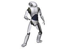 Αρρενωπός ή ρομπότ Στοκ Φωτογραφία
