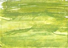 Αρρενωπό πράσινο αφηρημένο υπόβαθρο watercolor Στοκ Φωτογραφίες