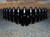 αρρενωπό mystics Στοκ Εικόνα
