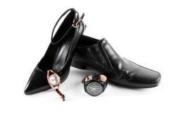 Αρσενικά και θηλυκά παπούτσια Στοκ Φωτογραφία