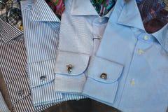 Αρσενικά πουκάμισα Στοκ Εικόνες