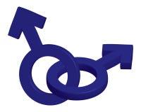αρσενικά σύμβολα Στοκ φωτογραφίες με δικαίωμα ελεύθερης χρήσης