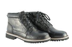 Αρσενικές χειμερινές μπότες Στοκ Εικόνες