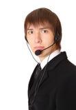 αρσενική έτοιμη εξυπηρέτη&sigm στοκ φωτογραφία με δικαίωμα ελεύθερης χρήσης