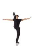αρσενική ενιαία βρύση χορ&eps στοκ φωτογραφίες