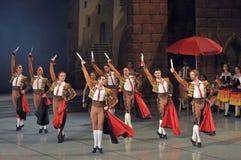 Αρσενικοί χορευτές στο μπαλέτο Στοκ Εικόνες