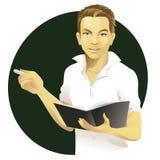 αρσενικός δάσκαλος Στοκ φωτογραφία με δικαίωμα ελεύθερης χρήσης
