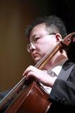 Αρσενικός μουσικός viola Στοκ φωτογραφία με δικαίωμα ελεύθερης χρήσης