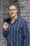 αρσενικός πρότυπος προκ&lam Στοκ φωτογραφία με δικαίωμα ελεύθερης χρήσης