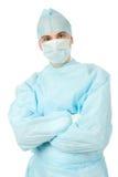αρσενικός χειρούργος ομοιόμορφος Στοκ εικόνα με δικαίωμα ελεύθερης χρήσης