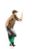Αρσενικός χορευτής χιπ χοπ Στοκ Φωτογραφίες