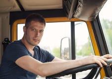 Αρσενικός trucker Στοκ εικόνα με δικαίωμα ελεύθερης χρήσης