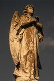Αρσενικό άγαλμα αγγέλου Στοκ Εικόνα