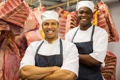 Αρσενικό ακατέργαστο κρέας χασάπηδων στοκ εικόνες με δικαίωμα ελεύθερης χρήσης