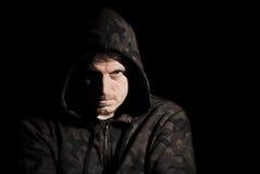 αρσενικό απειλητικό Στοκ εικόνες με δικαίωμα ελεύθερης χρήσης