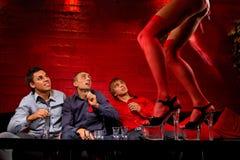 αρσενικό ελάφι συμβαλλόμενων μερών Στοκ Φωτογραφία