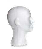 Αρσενικό κεφάλι styrofoam Στοκ εικόνες με δικαίωμα ελεύθερης χρήσης