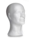 Αρσενικό κεφάλι styrofoam Στοκ Εικόνες