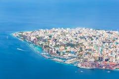 Αρσενικό, Μαλδίβες, ένας αληθινός παράδεισος στον Ινδικό Ωκεανό στοκ φωτογραφία