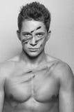αρσενικό μοντέλο Στοκ εικόνες με δικαίωμα ελεύθερης χρήσης