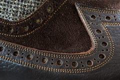 Αρσενικό παπούτσι τανγκό Στοκ εικόνα με δικαίωμα ελεύθερης χρήσης