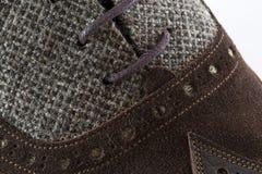Αρσενικό παπούτσι τανγκό Στοκ Εικόνες