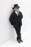 αρσενικό πορτρέτο επιχειρησιακού αριθμού Στοκ φωτογραφία με δικαίωμα ελεύθερης χρήσης